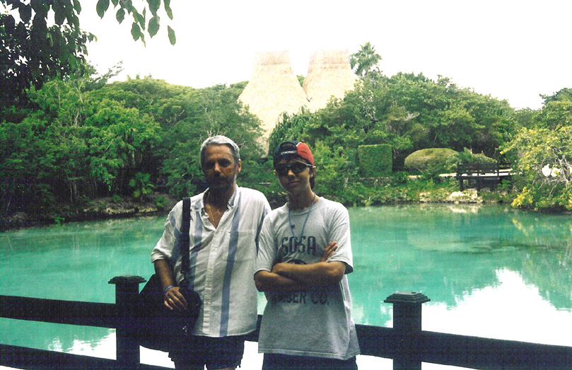 2003-Cozumel-Alex Steve-01