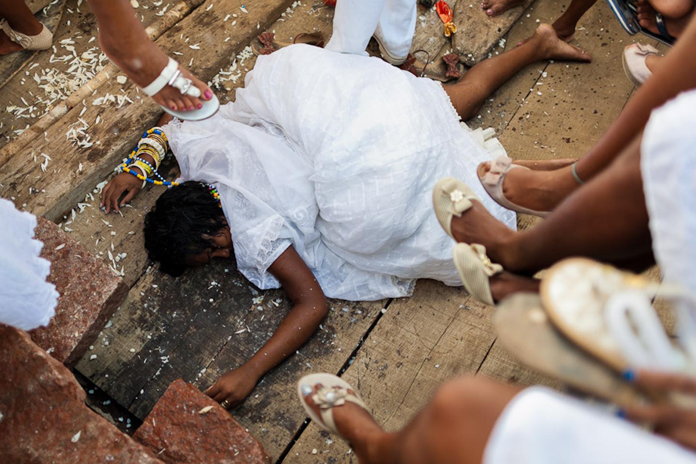 Yemanjá, Afro-Brazilian Candomblé cult in Bahia